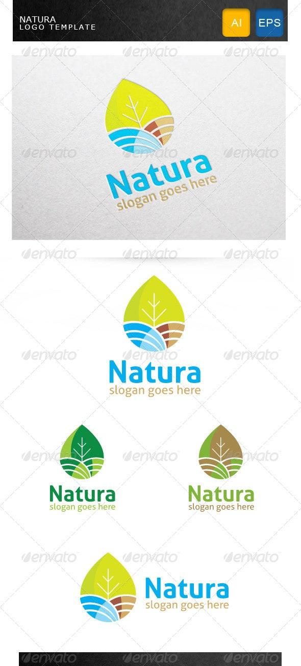 Natura Logo Template - Nature Logo Templates