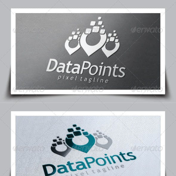Data Point Logo Template