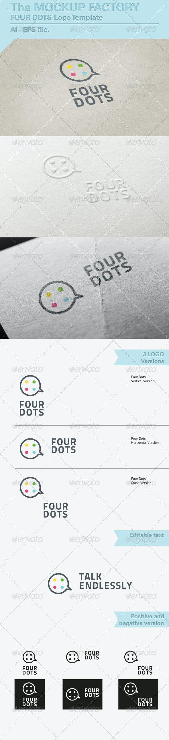 Logo Four Dots - Symbols Logo Templates