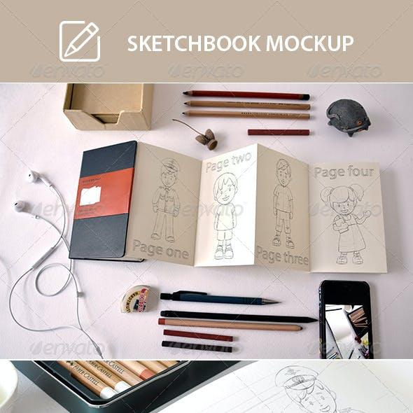 Scetchbook Mock-Up