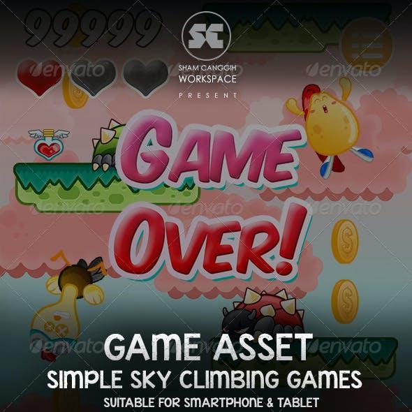 Sky Climber Game Assets