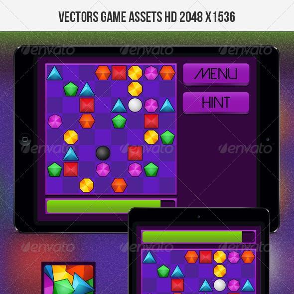 Gems Puzzle Game Kit