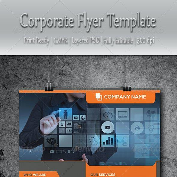 Multipurpose Corporate Business Flyer Template
