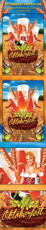 Octoberfest Flyer - Flyers Print Templates