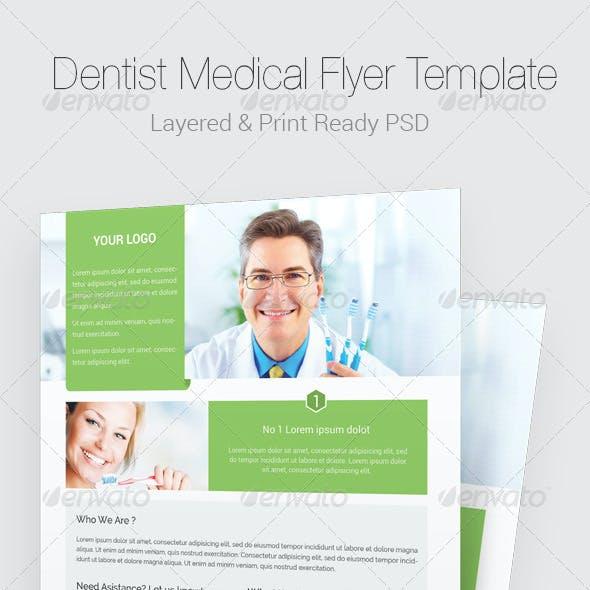 Medical Dentist Flyer Templates