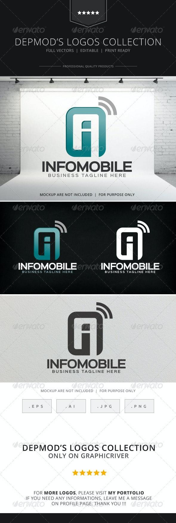 Infomobile Logo - Symbols Logo Templates
