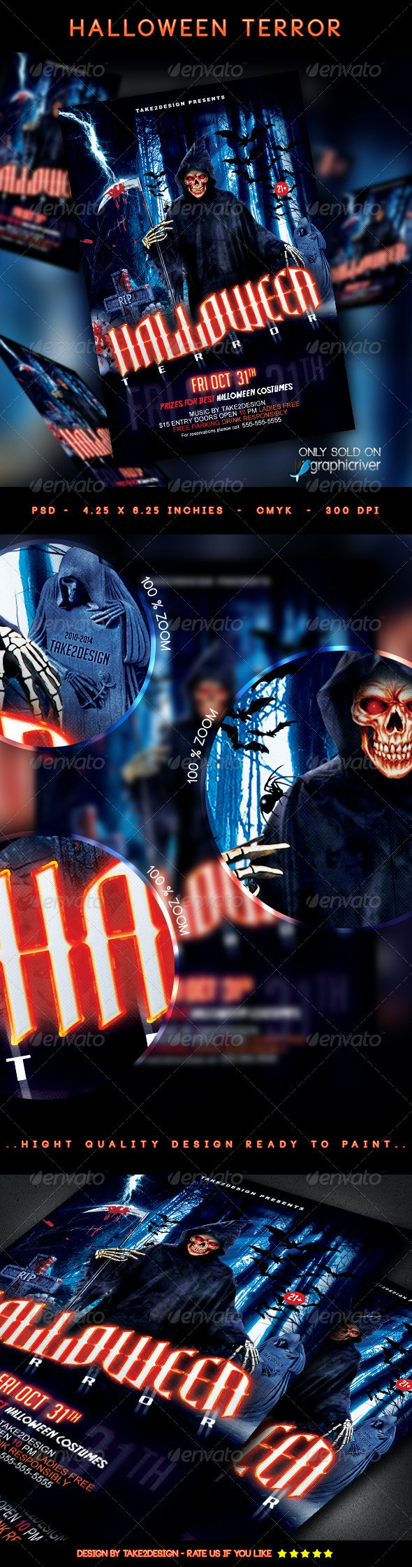 Halloween Terror - Clubs & Parties Events