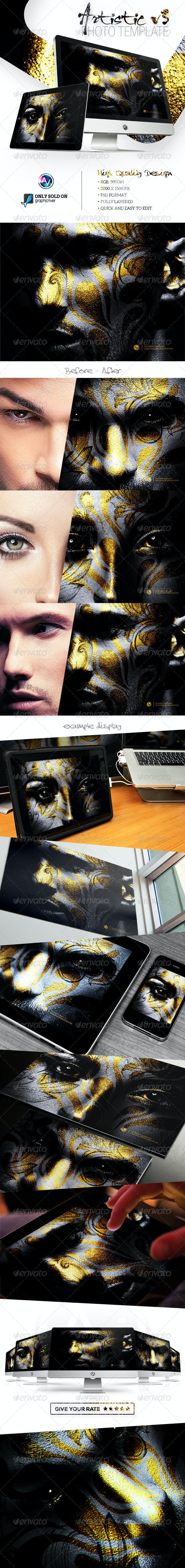 Artistic Photo Template V3 - Artistic Photo Templates