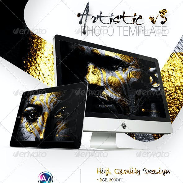 Artistic Photo Template V3