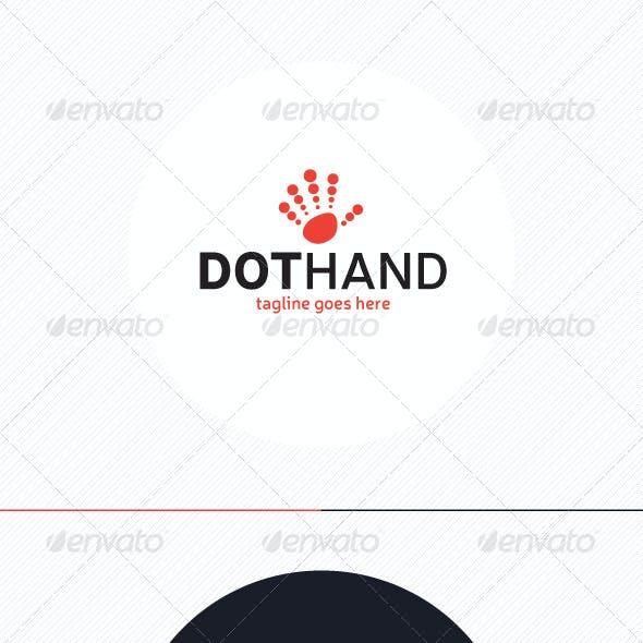 Dot Hand Logo