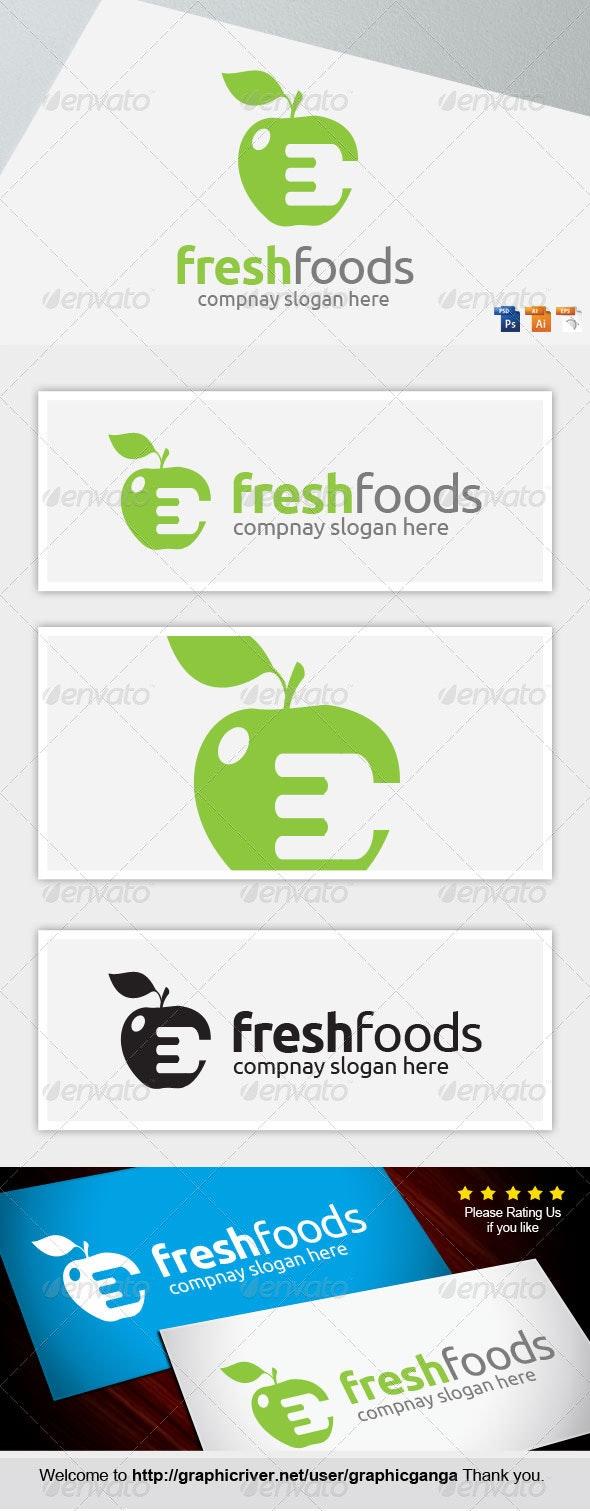 Fresh Foods - Food Logo Templates
