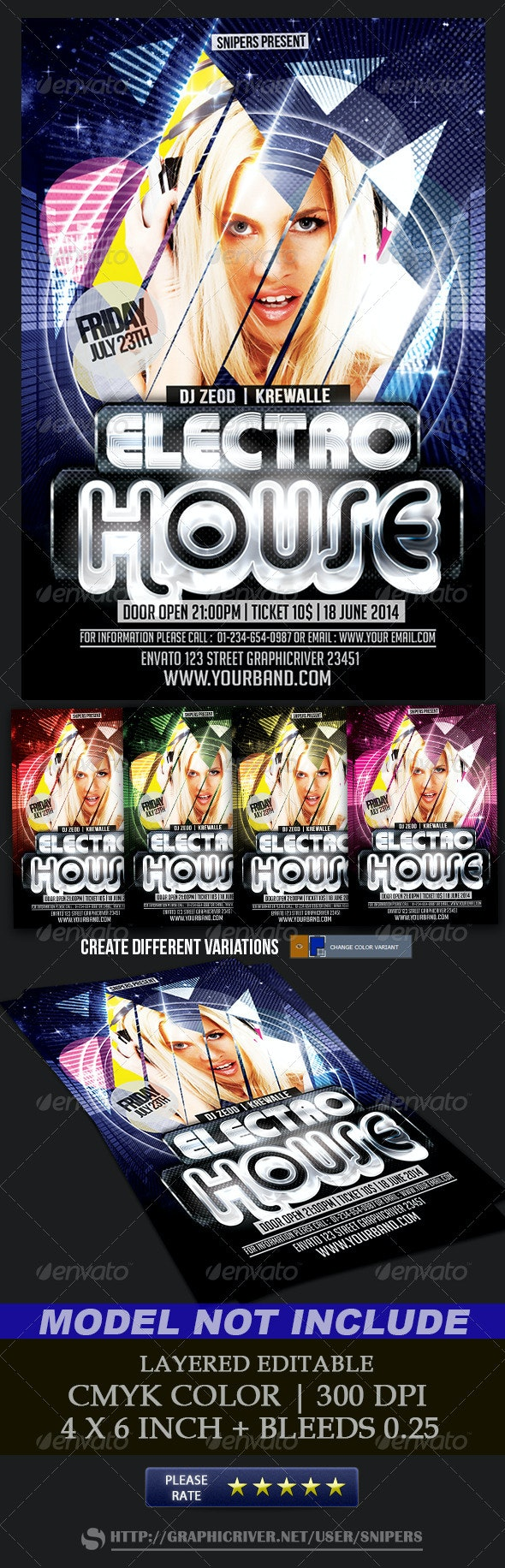 Electro House - Clubs & Parties Events