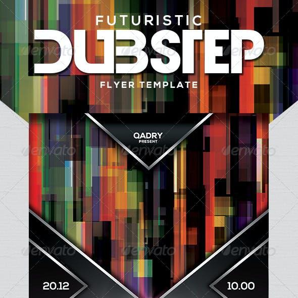 Futuristic Dubstep Flyer Template