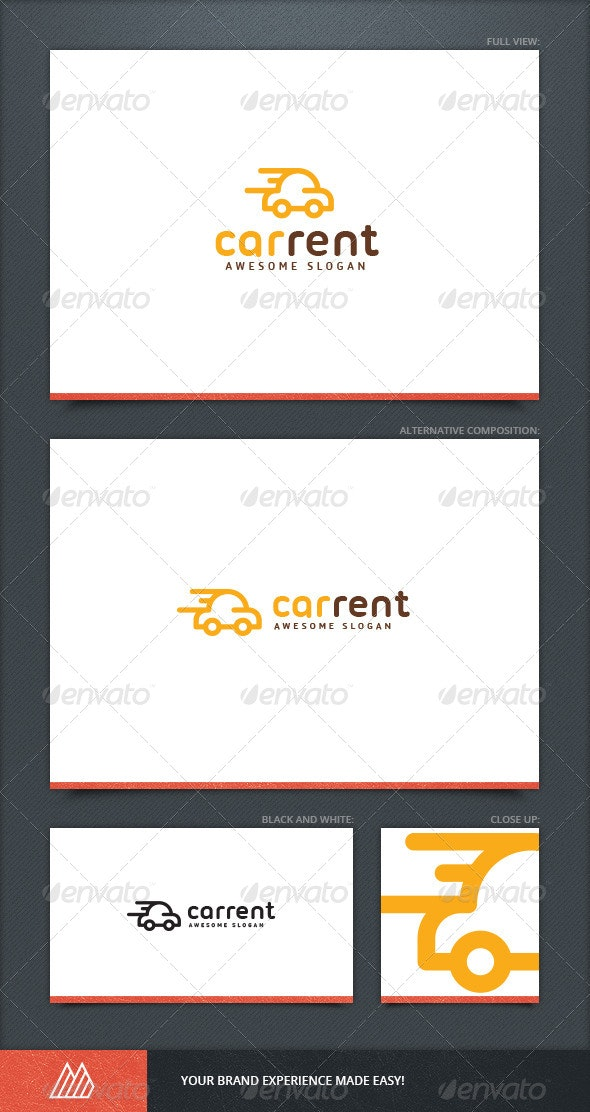 Car Rent Logo Template - Objects Logo Templates