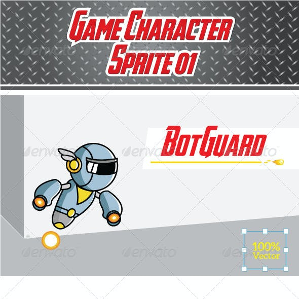 Game Character Sprite 01- BotGuard