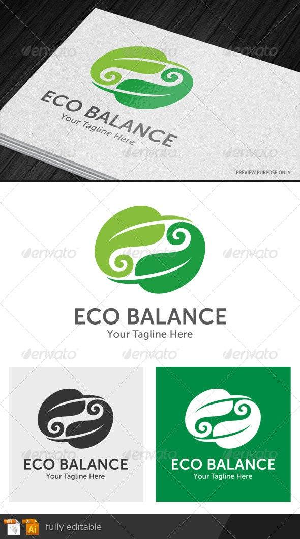 Eco Balance Logo - Nature Logo Templates