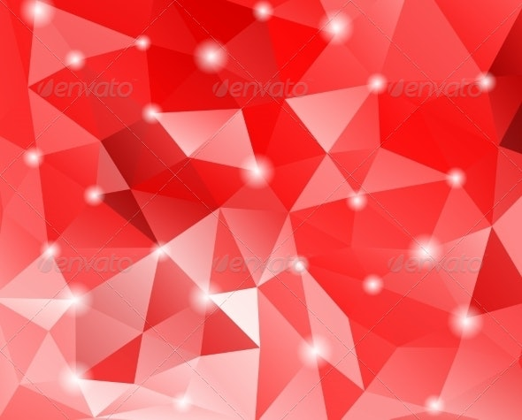 Abstract Geometric Background with Polygons - Backgrounds Decorative