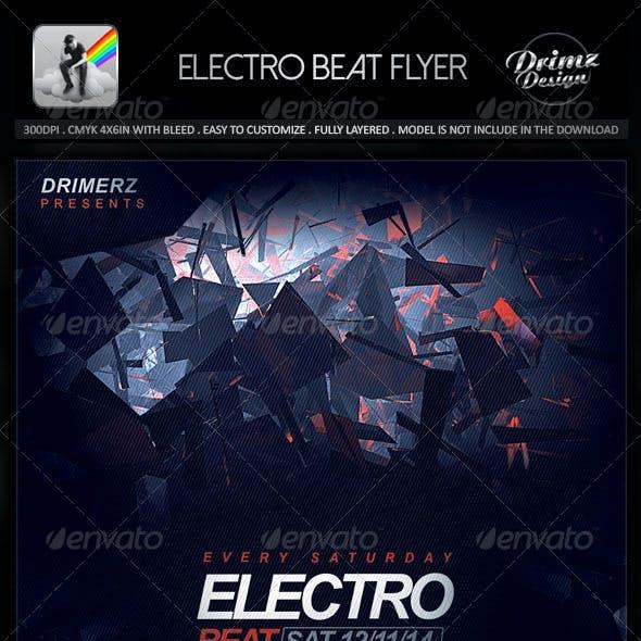 Electro Beat Flyer