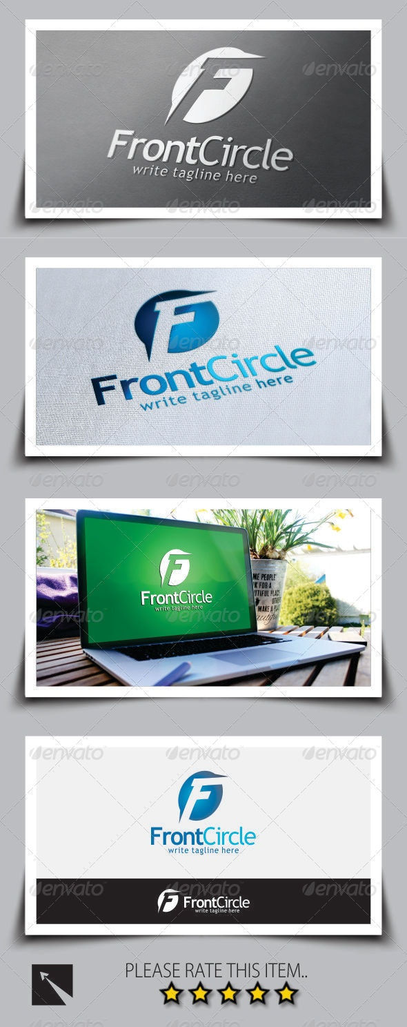 Letter (F) Logo Template - Letters Logo Templates