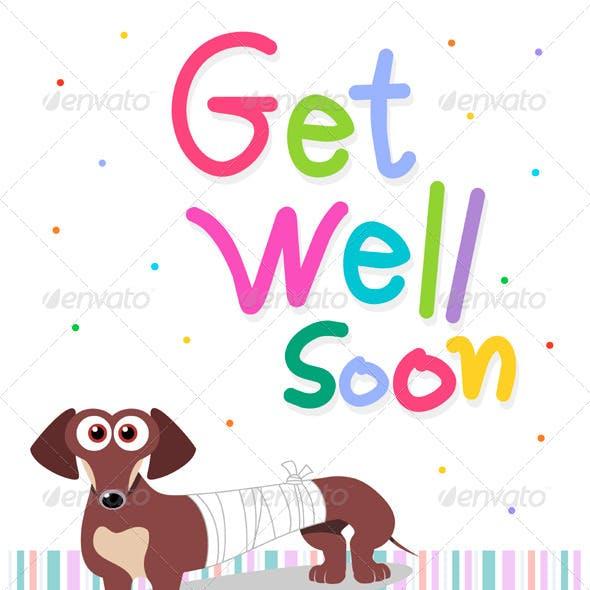 Get Well Wishing Card
