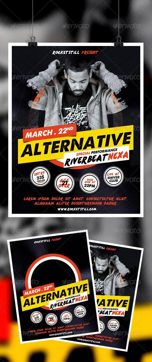 Riverbeat Flyer - Concerts Events