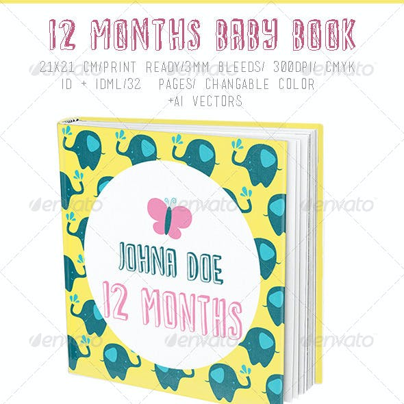 12 Months Baby Book