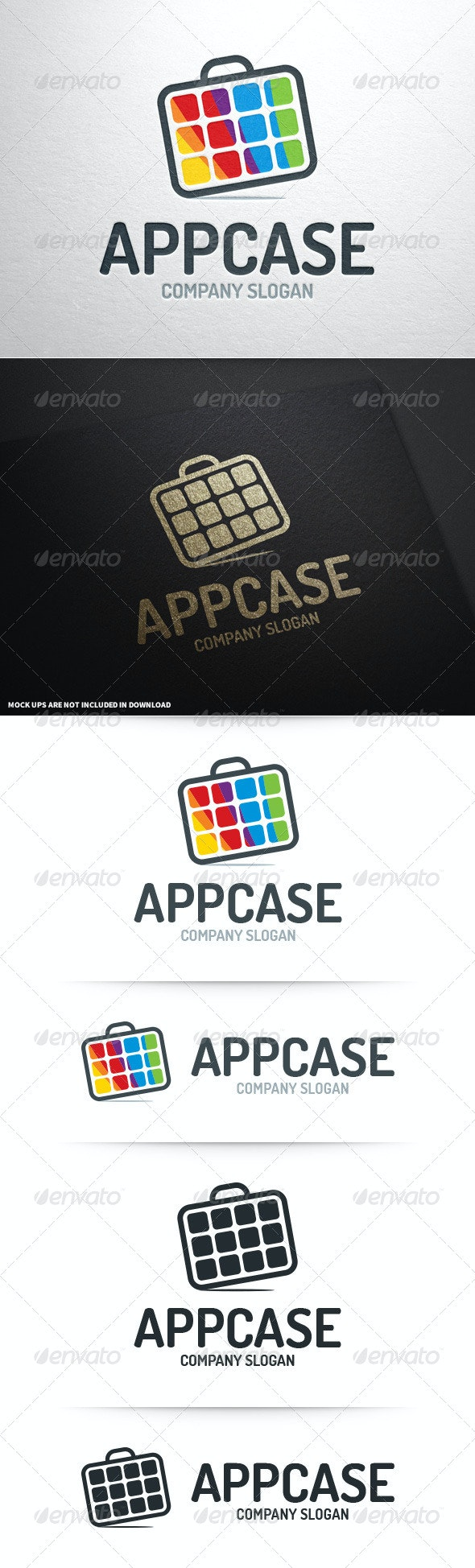 App Case Logo Template - Abstract Logo Templates