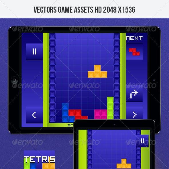 Classic Tetris Game Kit