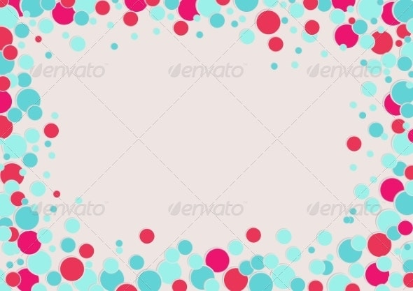 Abstracts Rounded Bubbles Background - Abstract Backgrounds
