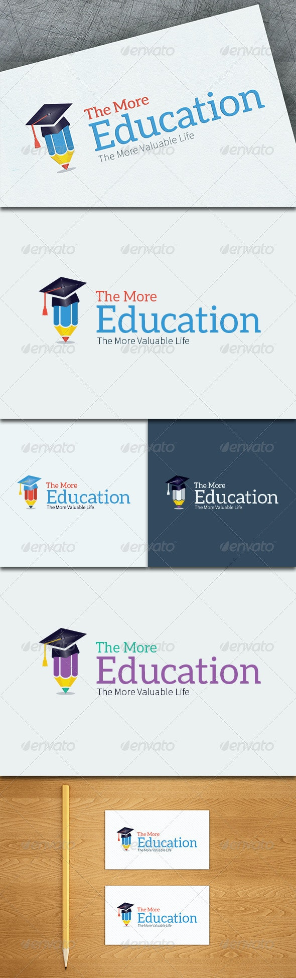 Education Logo Template - Objects Logo Templates