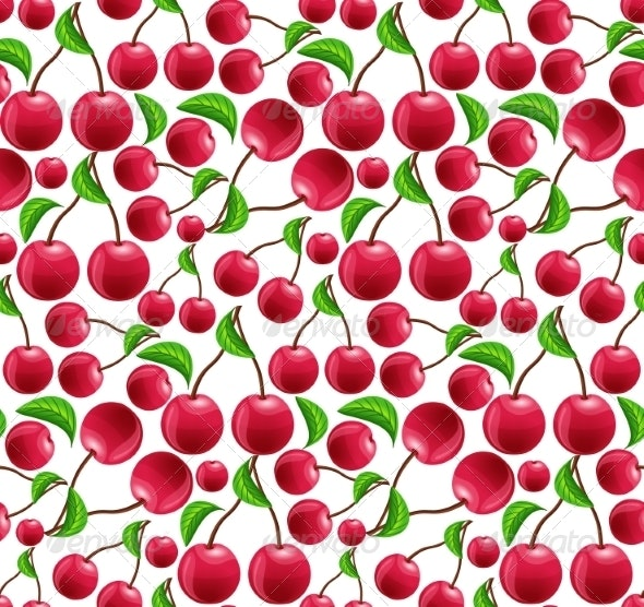 Cherry Background - Food Objects