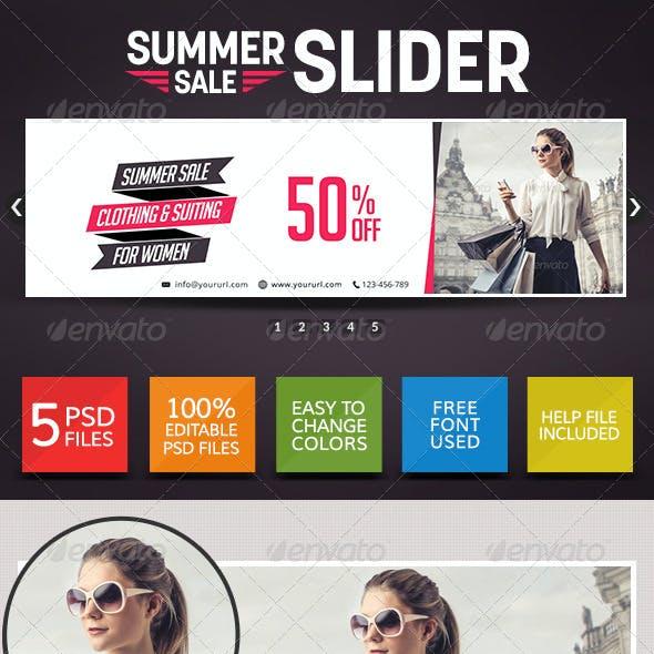 Season Sale Sliders