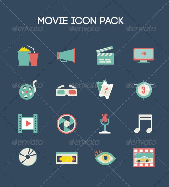 Movie Icon Pack