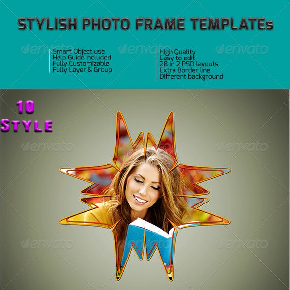 Stylish Photo Frame Templates