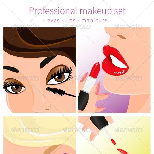Professional Makeup Set