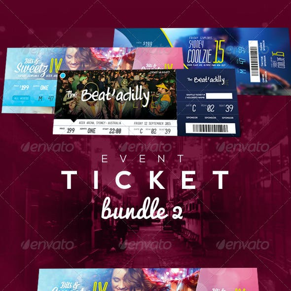 Event Tickets Bundle 2