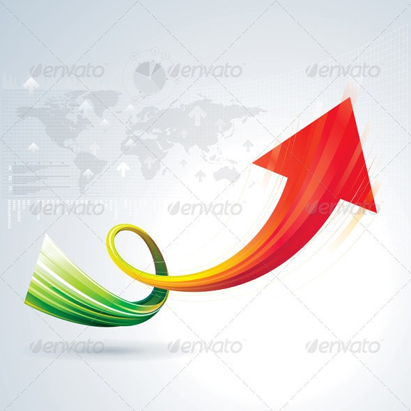 Growth Arrow - Concepts Business