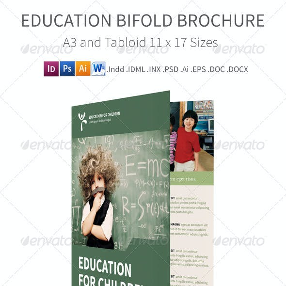 Education Bi fold / Half fold Brochure