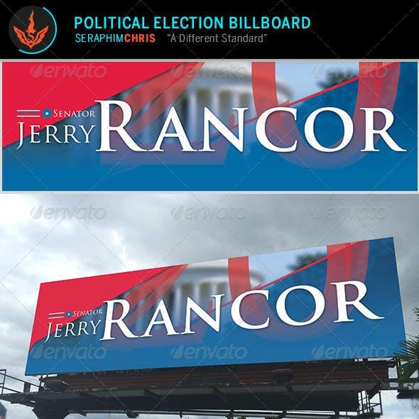 Political Election Billboard Template
