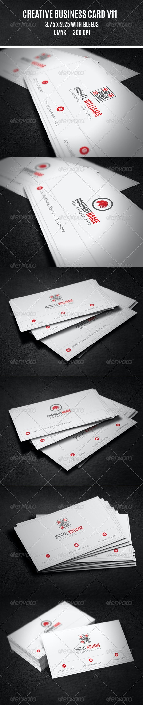 Creative Business Card V11 - Creative Business Cards