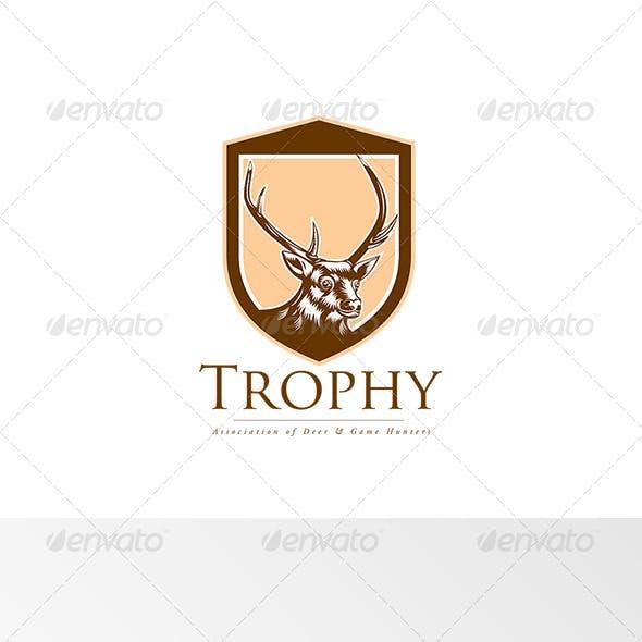 Trophy Association Deer Hunters Logo