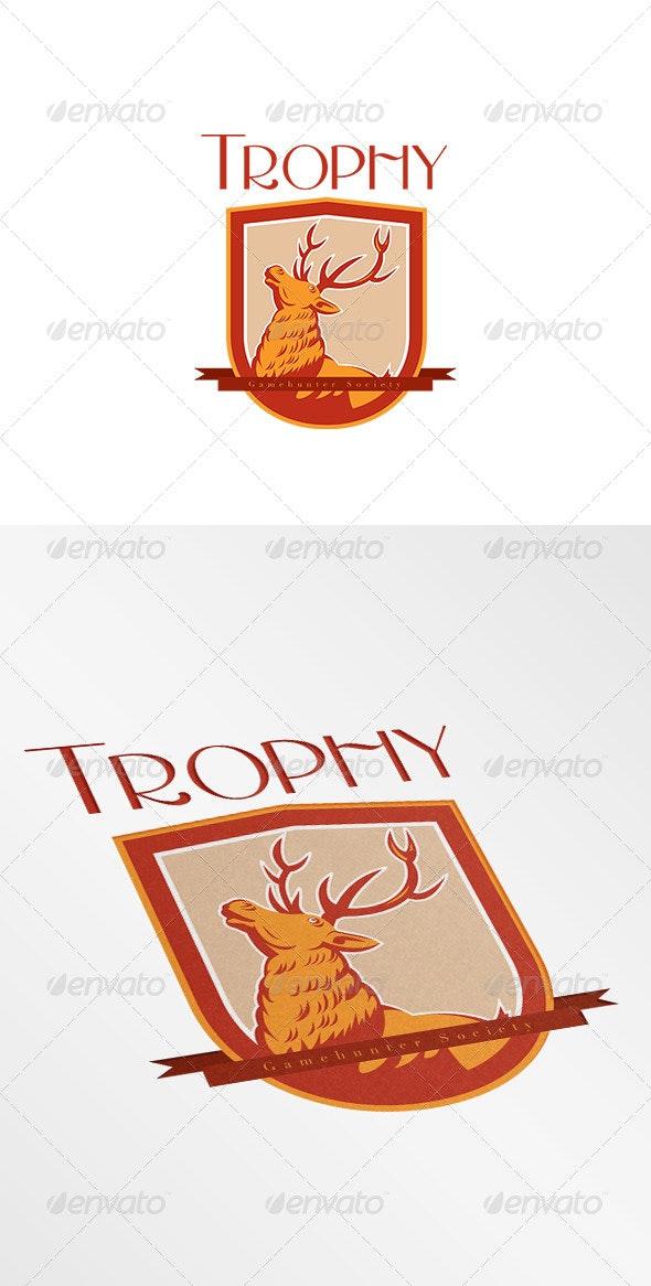 Trophy Game Gunter Society Logo - Animals Logo Templates