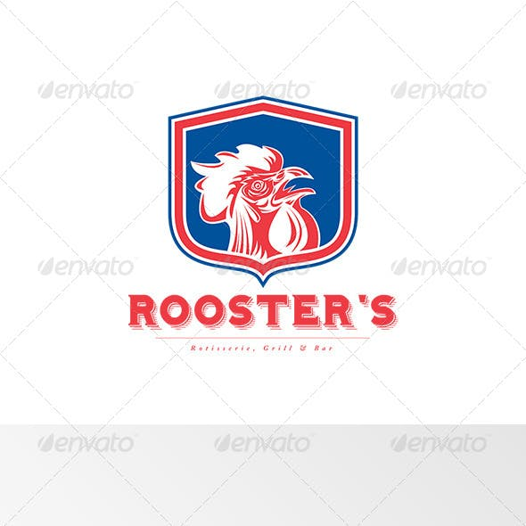Rooster's Grill and Bar Logo