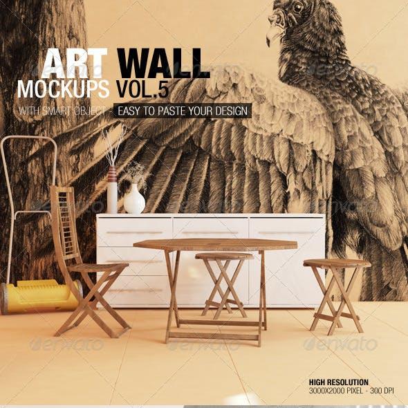 Art Wall Mockups Vol.5