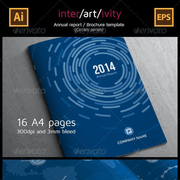 Corporate Annual Report (Circles Series)