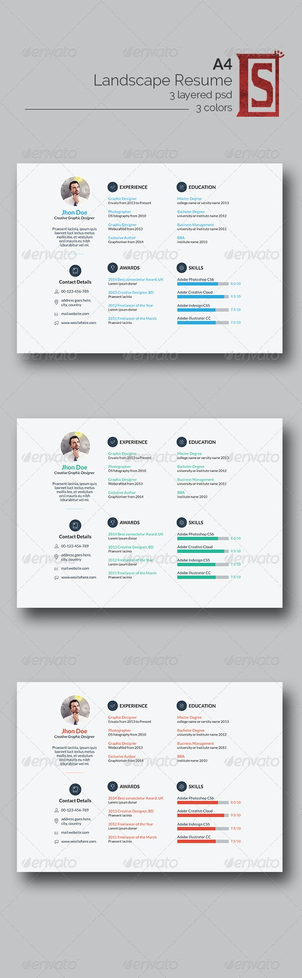 Minimal Resumes - Resumes Stationery