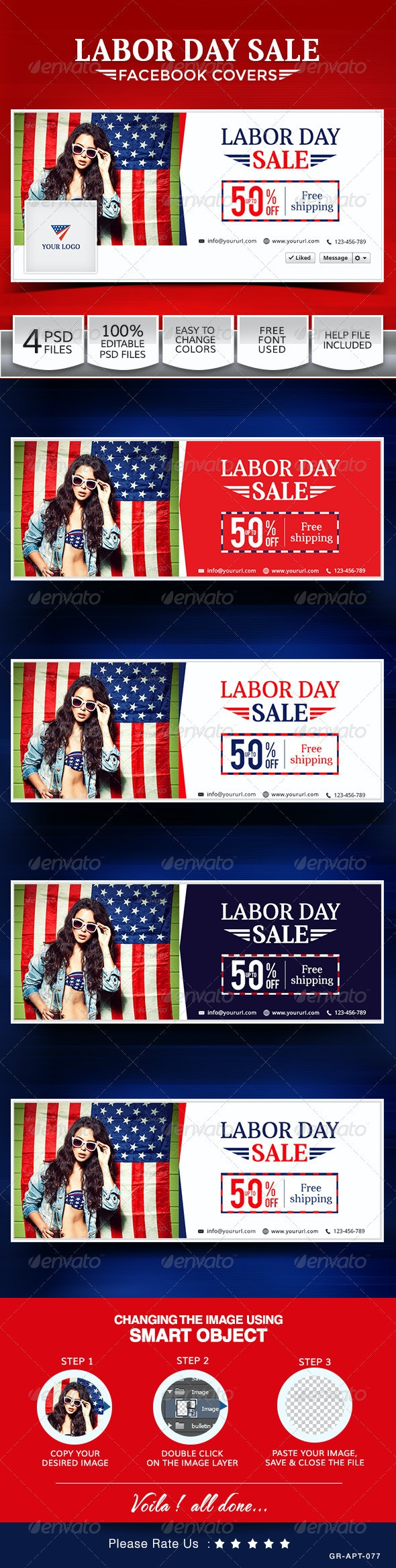Labor Day Sale Facebook Covers - Facebook Timeline Covers Social Media
