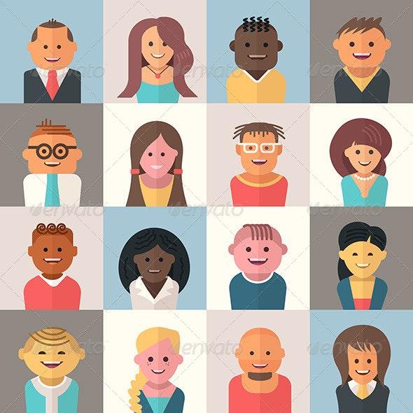 People Avatars - People Characters
