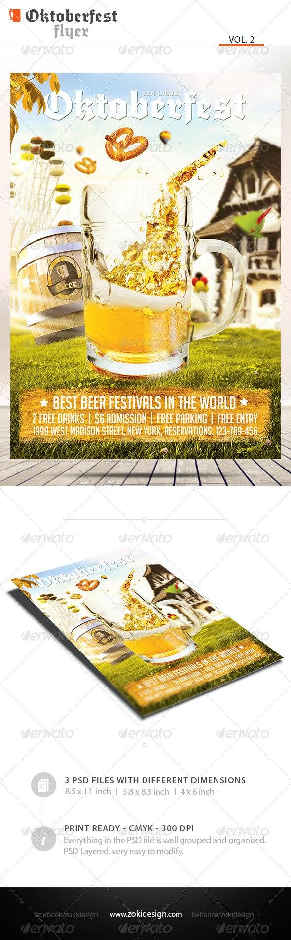 Oktoberfest Flyer Vol.2 - Clubs & Parties Events