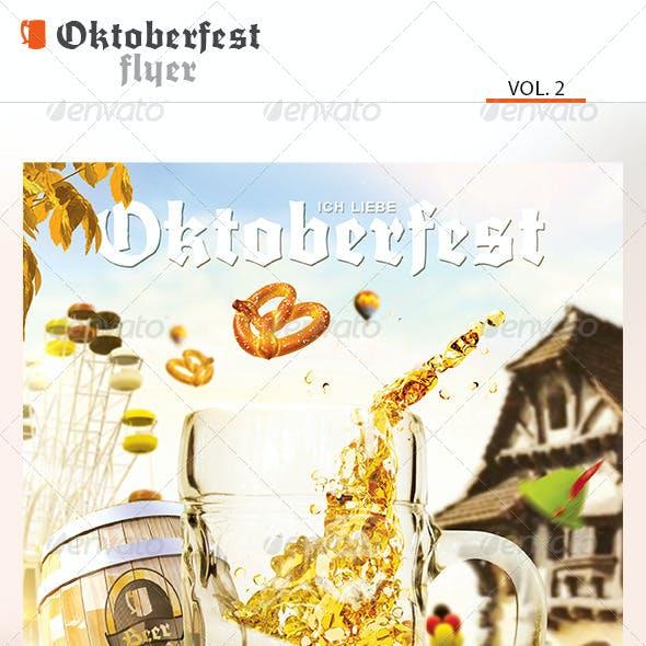 Oktoberfest Flyer Vol.2